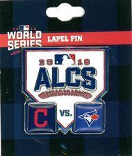 Indians vs Blue Jays 2016 ALCS Pin Cleveland Toronto AL championship series psg