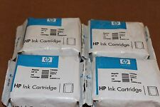 SET OF 4 GENUINE HP 72 MAGENTA (C9399A) INK CARTRIDGES. SEALED.