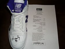 NBA Los Angeles Lakers James Worthy signed New Balance P740LA right sneaker shoe