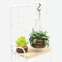 1:12 Dollhouse Miniature Ceramic Owl Planter Pot// Miniature Garden HMN 1438