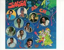 CD SALSA EN LA CALLE OCHO89US 1989 EX (R3376)