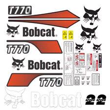 Bobcat T770 V2 Skid Steer Set Vinyl Decal Sticker Free Shipping