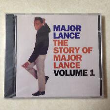 MAJOR LANCE - STORY OF  VOL 1 BRAND NEW CD
