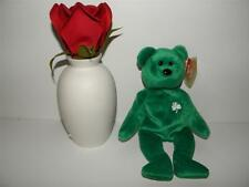 Retired 1997 ERIN Ty Plush Beanie Baby GREEN IRISH SHAMROCK _ MINT w/ TAGS