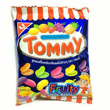 Thai Fruit Flavored Tommy Jelly Belly Beans Candy Bean Desserts Snacks 30G Tasty
