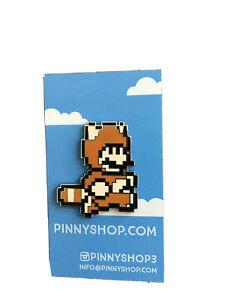 *** Pinny Penny Arcade PAX 2017 Tanooki Mario Pin SMB3 Blind Box Super Mario ***