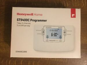 Honeywell ST9400c Programmer 7 Day, 2 Channel Brand New Unopened Cost £90.00