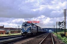 PHOTO  THE PROTOTYPE EE DELTIC RACES OVER LANGLEY TROUGHS ON THE EAST COAST MAIN