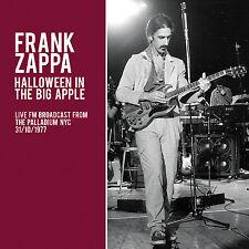 FRANK ZAPPA New 2017 UNRELEASED 1977 HALLOWEEN NEW YORK CITY LIVE CONCERT CD