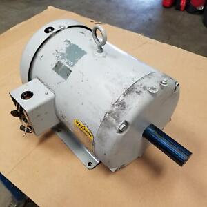 Baldor M3711T, Spec#37A01X56 10Hp, 3450Rpm, Frame:215T 3 Phase Motor - USED