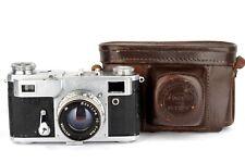 KIEV-2A 35mm 1957 made USSR rangefinder camera+jupiter-8 *tested with film*