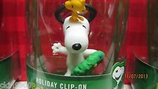 Peanuts Snoopy Christmas Figure New in Box 2013