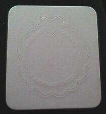 Sizzix Sizzlits CIRCLE SCALLOP FRAME  fits Cuttlebug
