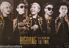 "BIG BANG ""ALIVE GALAXY TOUR"" ASIAN PROMO POSTER - K-Pop Music Korean Boy Band"