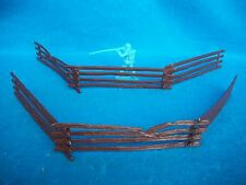 CLASSIC TOY SOLDIERS/MARX Civil War split rail fence 6 sections