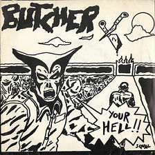 "BUTCHER your hell 7""EP with insert Punk Wave"