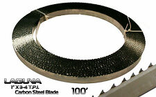 """1"""" Shear Force Bandsaw Blade Coil 100' Resaw Non Ferrous Metal Wood Band Saw"""