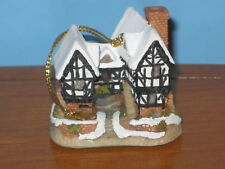 David Winter Cottage 1992 Tudor Manor Ornament Mib