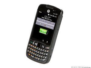 Motorola Moto E ES400S - 1 GB - Black (Sprint) Smartphone