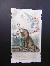 Santino Holy Card Sant'Antonio di Padova (ao60) ^