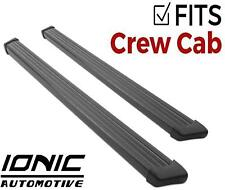 Ionic 61 Series Black fits 2015-2019 Ford F150 SuperCrew Running Boards Steps