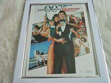 James bond 007 Collection Movie poster Tony nourman Framed octopussy japanese