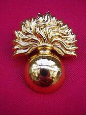 GRENADIER GUARDS British Army NO1/NO2 Dress Brass Metal Military Cap/Beret Badge