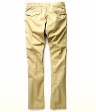 Polo Ralph Lauren Double Rl Rrl japonés Twill Western Skinny Chinos Pantalones de color caqui
