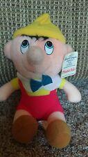 "Walt Disney Animated Film Classic Pinocchio Plush Stuffed Boy Doll 8"" old"