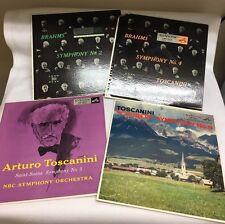 Toscanini ~ Schubert ~ Lot of 4 ~ Symphony No. 9 ~ Vinyl LP ~ RCA Red Seal