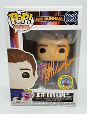 *SIGNED* Funko Pop Jeff Dunham and Peanut 03 Jeff Dunham Exclusive w PROTECTOR