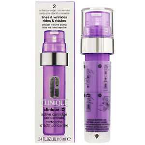 Clinique ID Active Cartridge Concentrate Lines And Wrinkles Purple .34 OZ NEW