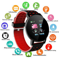 Smart Watch Heart Rate Monitor Blood Pressure Sport Activity Fitness Tracker