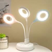 USB Desk Lamps Computer Table LED Lamp Lanterns Flexo Lamps Study Reading
