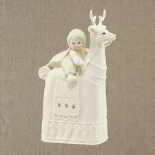 Snowbabies The Reigning Reindeer Figurine NEW in Gift Box