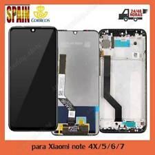 Pantalla LCD Tactil para Xiaomi Redmi Note 5 /Note 4X/Note 7/ 6 Pro Con Marco