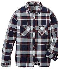 Firetrap Innis compruebe Camisa Manga Larga Bolsillos para Hombre de Algodón XL
