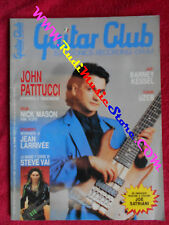 rivista GUITAR CLUB 7-8/1990 John Patitucci Steve Vai Nick Manson Uzeb  No cd