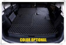 7 Seats Rear Trunk Mat Boot Liners For Isuzu MU-X 2013 2014 2015 2016 2017