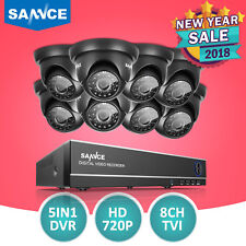 SANNCE 8CH 1080P HDMI DVR 1500TVL HD IR CCTV Video Home Security Camera System