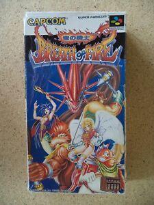 Breath of Fire Super Famicom Japanese NTSC Version Game