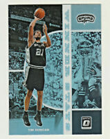 2019-20 Panini Donruss Optic WINNER STAYS SILVER PRIZM #7 TIM DUNCAN Spurs HOF