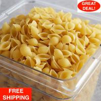 20 Lb Bag Bulk Supply Restaurant Hotel Diner Kitchen White Grain Shell Pasta