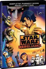 GWIEZDNE WOJNY: REBELIANCI (STAR WARS: REBELS) - SEZON 1 - BOX [3 DVD]