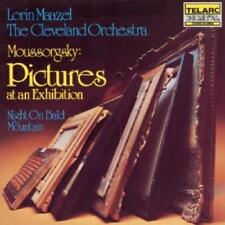 Mussorgsky: Pictures At An Exhibition/Night On A Bare Mountain - Clevel (NEW CD)