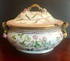 Royal Copenhagen Flora Danica Oval Soup Tureen # 20/3359 ~ Pristine Condition!