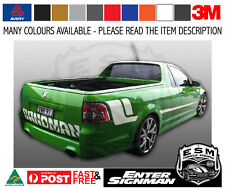 VE HOLDEN UTE ESM SANDMAN STRIPE DECAL KIT SV6 SS Arlon DPF6000XRP Wrap Vinyl