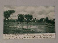 Vintage Postcard - Tallmadge Park, Mechanicville, NY. New York Posted #564