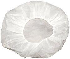 """Disposable Non-woven Bouffant Cap Hair Net Cap Elastic Free 21"""" Size (200 Pcs)"""