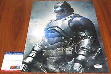 Ben Affleck Signed 11x14 Batman Bruce Wayne Dawn of Justice PSA/DNA